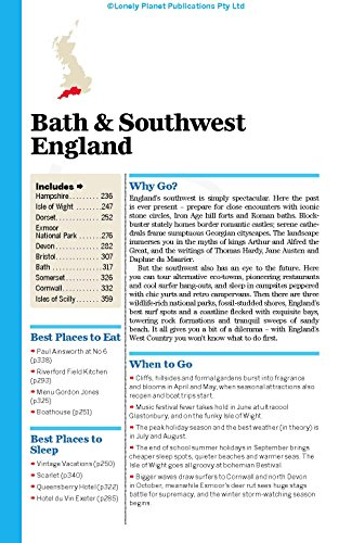 Lonely Planet Great Britain Travel Guide Just Leaving Footprints
