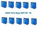 Ikea Frakta Bags Set of 10