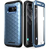 Clayco Galaxy S7 Edge Case, [Hera Series] Full-body Rugged Case with Built-in Screen Protector for Samsung Galaxy S7 Edge (2016 Release) (Blue)