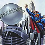 Warehouse USA Superman DC Comics Prepasted Large Wallpaper Accent Mural