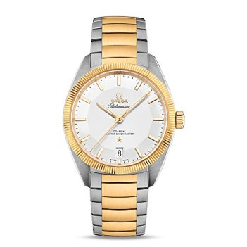 Omega Constellation Globemaster Automatic Men's Steel and 18K Yellow Gold Watch 130.20.39.21.02.001