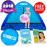 Thermalabs Baby Beach Tent Sun Shelter Shade Protector, Blue