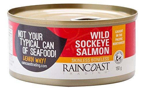 Raincoast Trading Wild Sockeye Salmon - Skinless Boneless