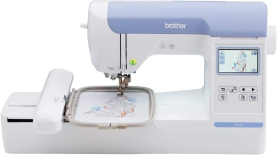 Brother PE800 Embroidery Machine features