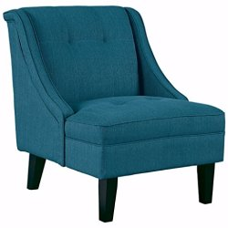 Signature Design by Ashley – Clarinda Accent Chair – Wingback – Modern – Blue