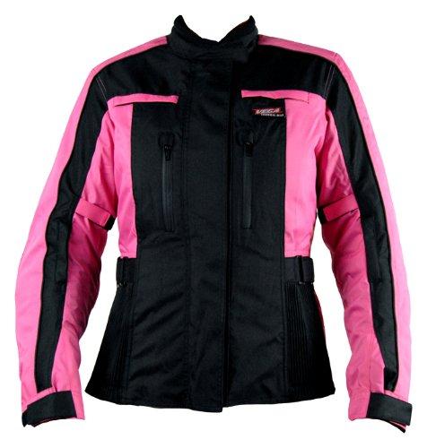 Vega Silhouette Ladies Jacket (Black/Pink, Size 2W)