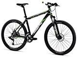 "Mongoose TYAX Sport Men's Mountain Bike, Black, 20""/Large"