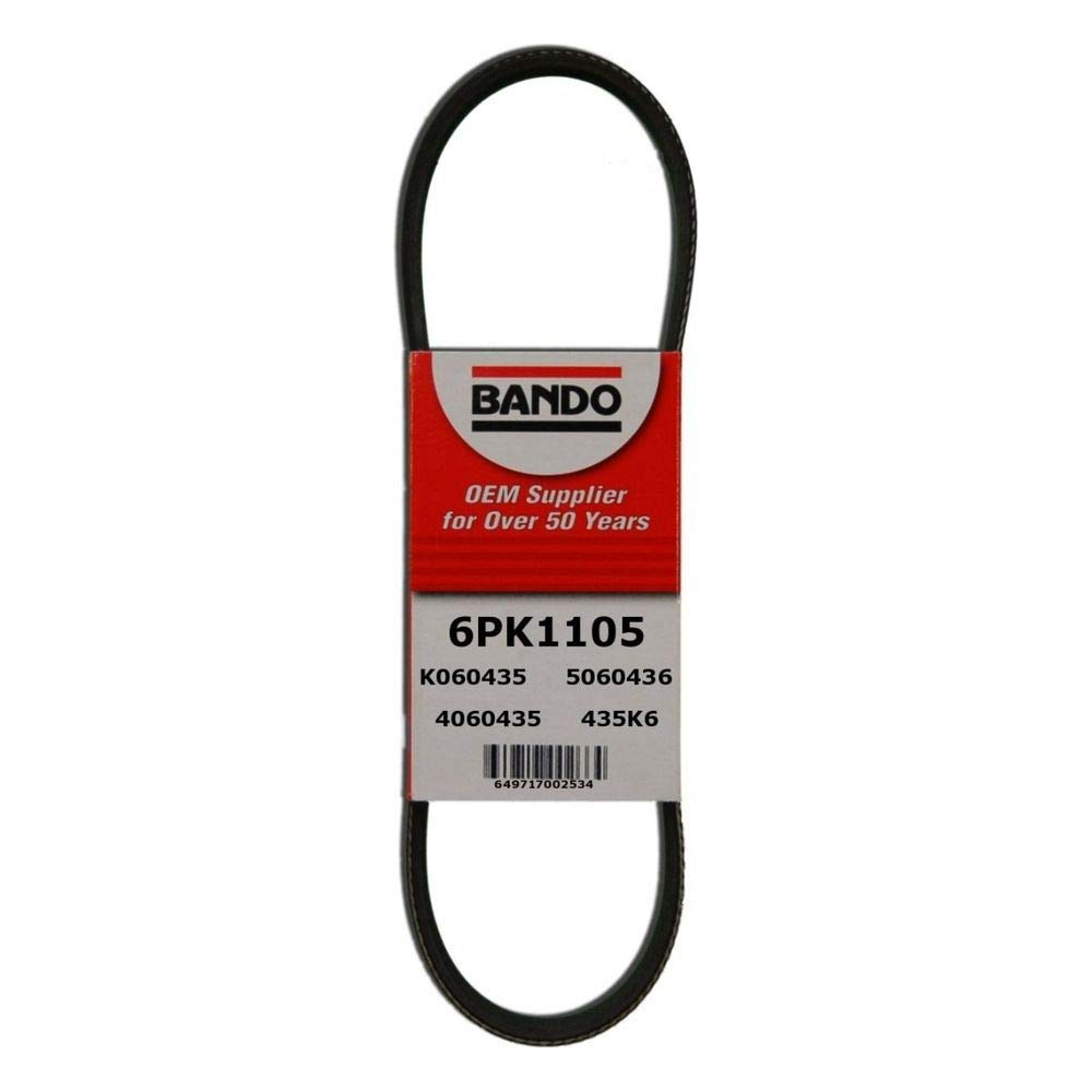 Best Power Steering Belt Bando 6PK1105 Belts