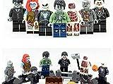 funtoys24, Zombie Jack Skellington Ghost Halloween Horror Theme Movie 7pcs Mini Figures, 100% Compatible Building Blocks Toys Set