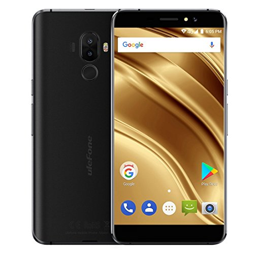 Ulefone S8 Pro 2GB+16GB 5.3 Inch Android 7.0 MTK6737 Quad Core 64-bit up to 1.3GHz WCDMA & GSM & FDD-LTE (Black)