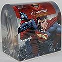Valentine's Day Mailbox with 32 Valentine Cards (Superman Man of Steel)