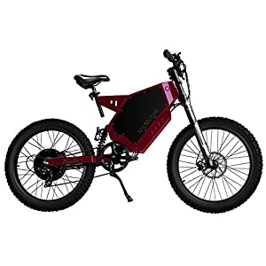 Addmotor TORETTO 3000W Electric Bicycles Mountain 40MPH Electric Bikes 60V 29AH Lithium Battery Rear Hub Brushless Motor T-3000 Ebike(Red)