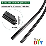 BEMOST Car Frameless Windshield Wiper Blade Refills Rubber strips Pack of 2 (30 Inches)