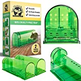 (2 Pack) Humane Mouse Trap Catch and Release by Mouse House - Non-Kill, Non-Poison, Non-Toxic Rodent, Reusable and Environmentally Friendly Rodent Trap
