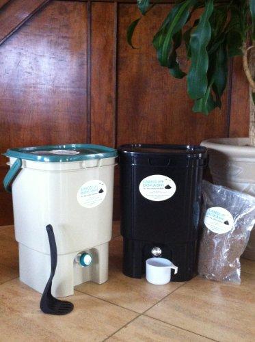 VermiHut Bokashi Compost Kit- Twin Bucekts Model