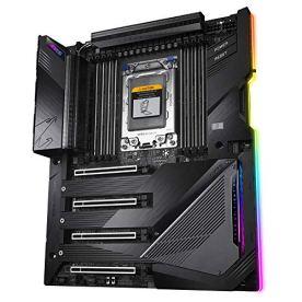 GIGABYTE-TRX40-AORUS-Xtreme-sTRX-AMD-TRX40Fins-Array-Heatsink163-Phases-Infineon-Digital-VRMGen-4-AIC-with-4-X-M2-NVMeIntel-WiFi-6Intel-Dual-10GbE-LANXL-ATXAMD-Motherboard