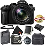 PANASONIC LUMIX DMC-FZ2500 4K Point and Shoot Camera w/20X Leica DC Vario-ELMARIT F2.8-4.5 Lens - International Version - Bronze Bundle