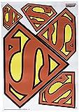 DC Comics FW SM LOGO001 Car Graphics Set (DC Logo Car Wraps Superman)