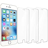 iPhone 8 Screen Protector,iPhone 7 Screen Protector, 3 Pack Novo Icon Tempered Glass Screen Protector 3D Touch Clear Screen Protector Glass Film