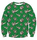 Uideazone Men Women Ugly Christmas Pullover Sweatshirts 3D Digital...