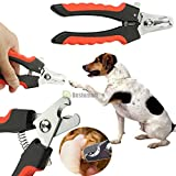 Product review for Armyshop Pet Dog Cat Claw Toe Nail Clipper Cutter Trimmer Grooming Scissor Shear Groomer