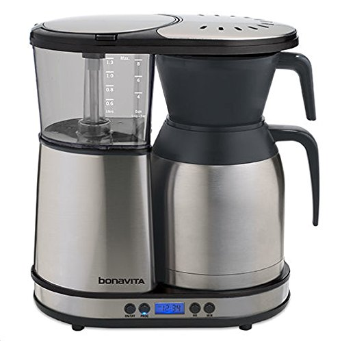 Bonavita 8-Cup One-Touch Coffee Maker Featuring Programmable Setting and Thermal Carafe, BV1900TD