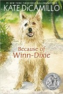 Book Cover Art for BECAUSE OF WINN DIXIE