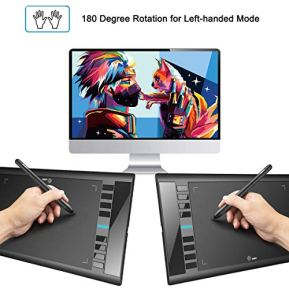 Graphics-Drawing-Tablet-M708-UGEE-10-x-6-inch-Large-Active-Area-Drawing-Tablet-with-8-Hot-Keys-8192-Levels-Pen-UGEE-M708-Graphic-Tablets-for-Paint-Digital-Art-Creation-Sketch-