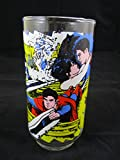 1978 Superman The Movie Pepsi Collectors Drinking Glass The Caped Wonder to the Rescue