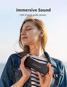 Anker-Soundcore-2-Portable-Bluetooth-Speaker-with-12W-Stereo-Sound-Bluetooth-5-Bassup-IPX7-Waterproof-24-Hour-Playtime-Wireless-Stereo-Pairing-Speaker-for-Home-Outdoors-Travel