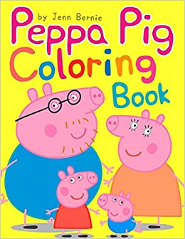 Peppa Pig Coloring Book Illustrated 2019 High Quality Coloring Book Peppa S And Friends Adventures Coloring Book For Kids Ages 2 4 4 8 Bernie Jenn 9781694620064 Amazon Com Books