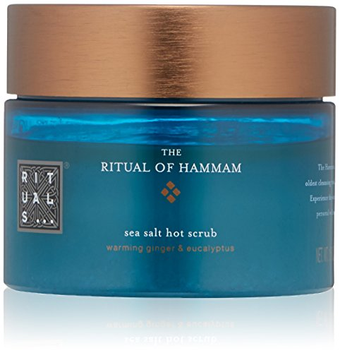 51j8rp5rCVL Nourishing body scrub based on pure purifying Sea Salt with warming Ginger and refreshing Eucalyptus An intensively purifying, nourishing scrub effect which gives your skin a wonderful tingling feeling After exfoliating, the skin feels super soft and refreshed, and is left with a wonderful warm sensation that can immediately reduce tiredness