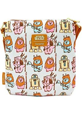 Loungefly-x-Star-Wars-Pastel-Ewok-Allover-Print-Nylon-Passport-Bag