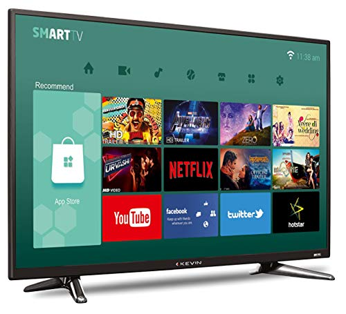 Kevin 102 cm (40 Inches) Full HD LED Smart TV KN40001A (Black) 3