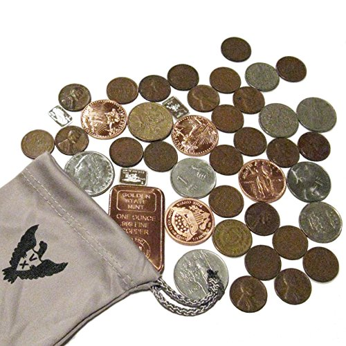 Vx Investments Ultimate Coin Bag  3x 1 Gram Silver Bars, 10 Coins