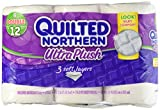 Quilted Northern Ultra Plush Bath Tissue, 6 Double Rolls