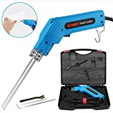 Kohree Hot Knife Foam Cutter, Professional Electric Styrofoam Cutting Tool with 6 & 8 inches Blades, 200W Heated Foam Carving Knife Kit