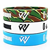 Tentop Basketball Silicone Wristband Bracelet Sign Logo,Gift Idea for Your Beloved Ones