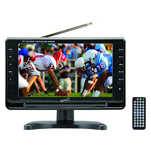 SuperSonic Portable Digital LED TV High Resolution 9