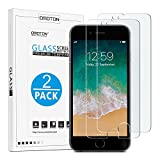 OMOTON SmoothArmor 9H Hardness HD Tempered Glass Screen Protector for Apple iPhone 8 Plus / iPhone 7 Plus, 2 Pack