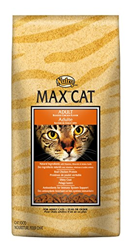 Nutro Max Cat Adult Roasted Chicken Flavor Dry Cat Food (1)16 Pounds; Rich In Nutrients And Full Of Flavor; Supports Healthy Joints & Healthy Skin And Coat