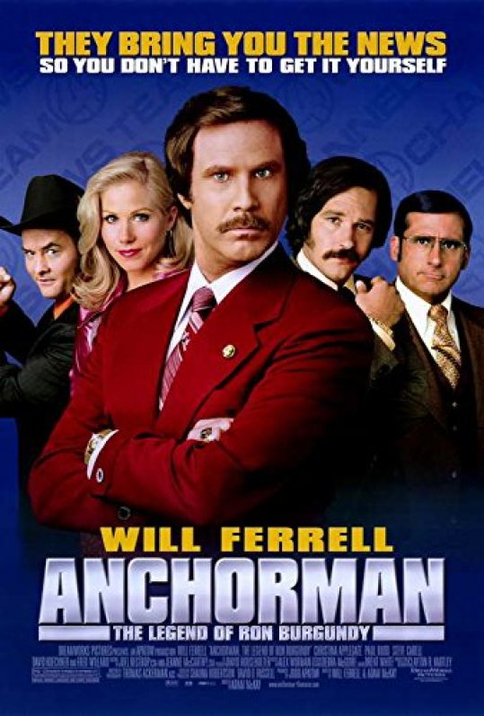 Image result for anchorman poster