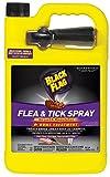 Black Flag Flea & Tick Killer Home Treatment with Growth Regulator Spray, 1-Gallon