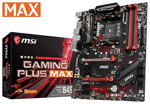 MSI-Performance-Gaming-AMD-Ryzen-2ND-and-3rd-Gen-AM4-M2-USB-3-DDR4-DVI-HDMI-Crossfire-ATX-Motherboard-B450-Gaming-Plus-Max