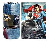Batman Vs Superman Printed Soft Fleece Bed Blanket/ Throw