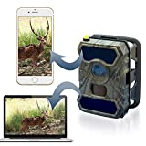 CreativeXP 3G Cellular Trail Cameras | AT&T WiFi Full HD Wild Game Camera with Night Vision for Deer Hunting, Security | Wireless Waterproof and Motion Activated | Tree Mount Included (3-Pack)