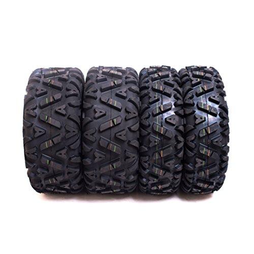 4. Sun.F A033 ATV Tires 25x8-12 & 25x10-12