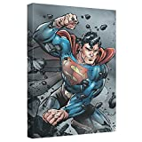 Indestructible -- Superman -- Stretched Canvas Framed Artwrap, 20x30