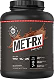 MET-Rx Natural Whey Protein Powder, Great for Meal Replacement Shakes, Low Carb, Gluten Free, Chocolate, 5 lbs
