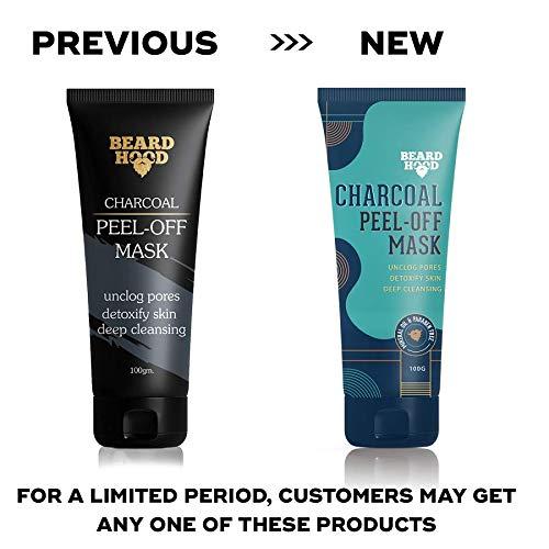 51jYPKEG%2B3L Beardhood Charcoal Peel Off Mask, 100g
